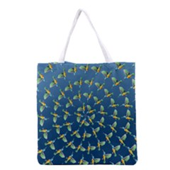 Sunbirds Pattern  Grocery Tote Bag