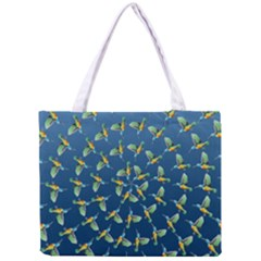 Sunbirds Pattern  Tiny Tote Bag