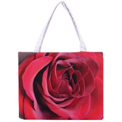 An Open Rose Tiny Tote Bag