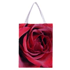 An Open Rose Classic Tote Bag