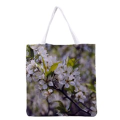 Apple Blossoms Grocery Tote Bag