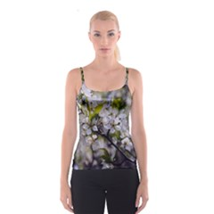 Apple Blossoms Spaghetti Strap Top