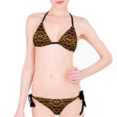 Tribal Art Abstract Pattern  Bikini