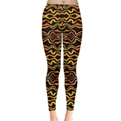 Tribal Art Abstract Pattern  Leggings