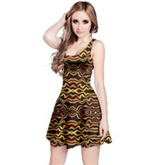 Tribal Art Abstract Pattern  Sleeveless Dress