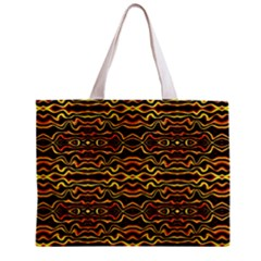 Tribal Art Abstract Pattern Tiny Tote Bag
