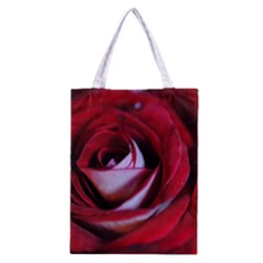 Red Rose Center Classic Tote Bag