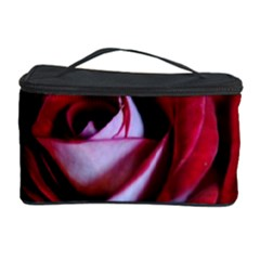 Red Rose Center Cosmetic Storage Case