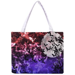 Bokeh Bats in Moonlight Tiny Tote Bag