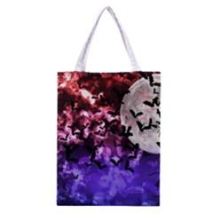 Bokeh Bats in Moonlight Classic Tote Bag