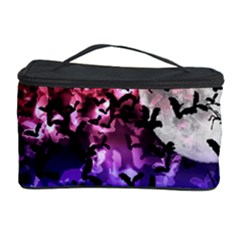 Bokeh Bats in Moonlight Cosmetic Storage Case