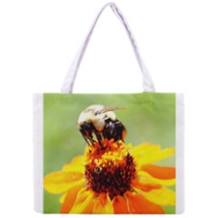 Bee on a Flower Tiny Tote Bag