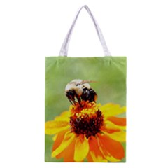 Bee on a Flower Classic Tote Bag