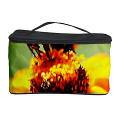 Bee On A Flower Cosmetic Storage Case