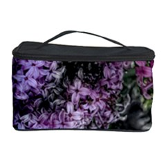 Lilacs Fade to Black and White Cosmetic Storage Case