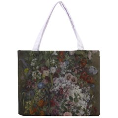 Courbet Bouquet Of Flowers In Vase Tiny Tote Bag