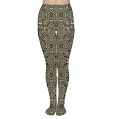 Steam Punk Pattern Tights