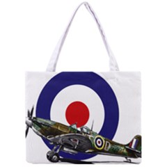 Spitfire And Roundel Tiny Tote Bag