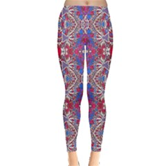 Colorful Ornate Decorative Pattern Leggings
