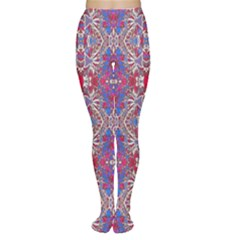Colorful Ornate Decorative Pattern Tights