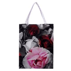 Black And White Roses Classic Tote Bag