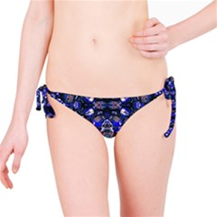 Decorative Retro Floral Print Bikini Bottom