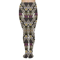 Abstract Geometric Modern Seamless Pattern Tights