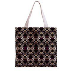 Abstract Geometric Modern Seamless Pattern Grocery Tote Bag