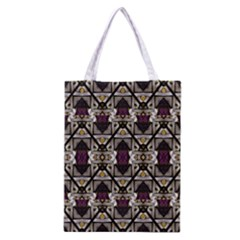 Abstract Geometric Modern Seamless Pattern Classic Tote Bag