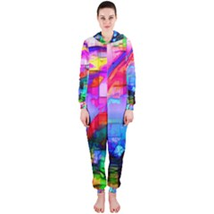 Dolphins Hooded OnePiece Jumpsuit (Ladies)