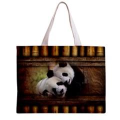 Panda Love Tiny Tote Bag