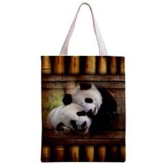 Panda Love Classic Tote Bag