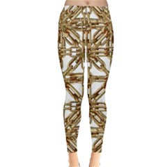 Chain Pattern Print Leggings