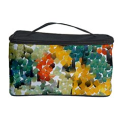 Paint Strokes In Retro Colors Cosmetic Storage Case