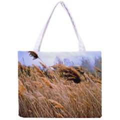 Blowing Prairie Grass Tiny Tote Bag