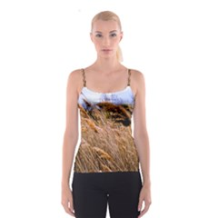 Blowing Prairie Grass Spaghetti Strap Top