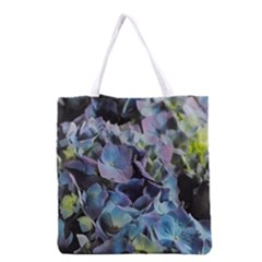 Blue And Purple Hydrangea Group Grocery Tote Bag