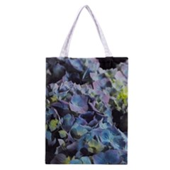 Blue and Purple Hydrangea Group Classic Tote Bag