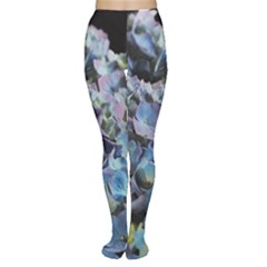 Blue and Purple Hydrangea Group Tights