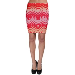Gradient Shapes Bodycon Skirt