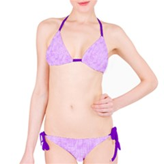 Hidden Pain In Purple Bikini