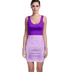 Hidden Pain In Purple Bodycon Dress