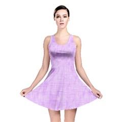 Hidden Pain In Purple Reversible Skater Dress