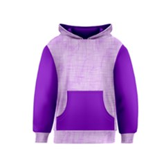 Hidden Pain In Purple Kid s Pullover Hoodie
