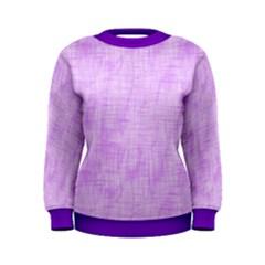 Hidden Pain In Purple Women s Sweatshirt