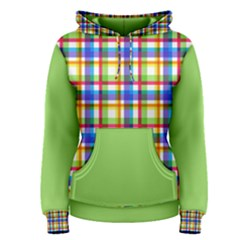 Plaid Women s Pullover Hoodie