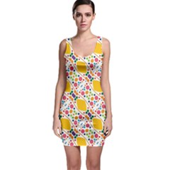 Dots and rhombus Bodycon Dress