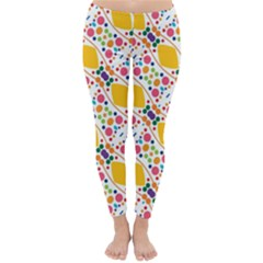 Dots and rhombus Winter Leggings