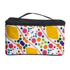 Dots and rhombus Cosmetic Storage Case