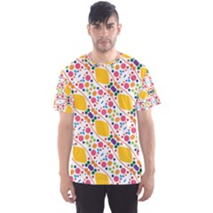 Dots And Rhombus Men s Sport Mesh Tee